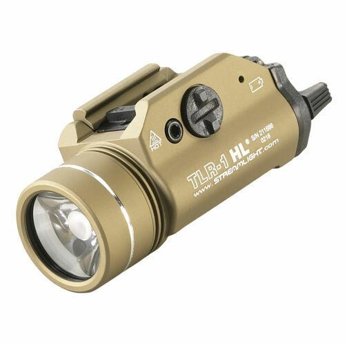 Streamlight TLR 1 HL Rail Mounted Tactical C4 LED Flashlight 800 Lumens 69266