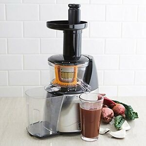 Salton Vita Pro Slow Speed Juicer (black/chrome)