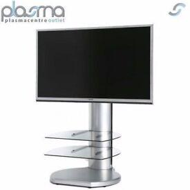 SALE--SALE Off The Wall Origin II S4 TV Stand - Silver