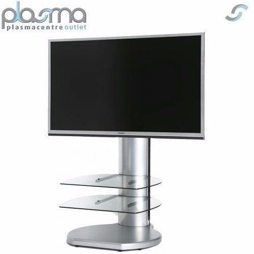 SALE--SALE Off The Wall Origin II S4 TV Stand - Silver