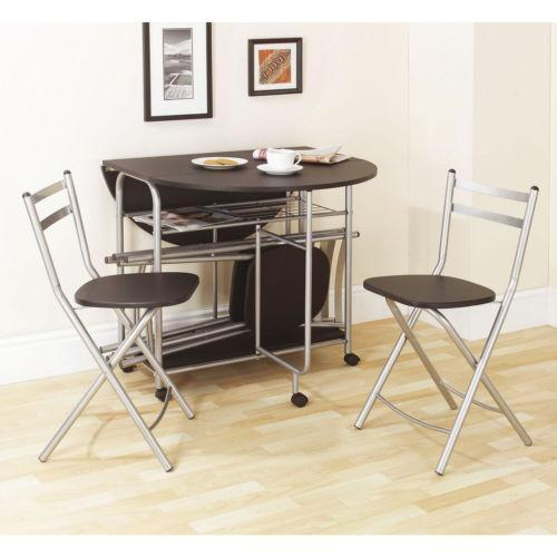 Fold away dining table ebay for Fold away nail table
