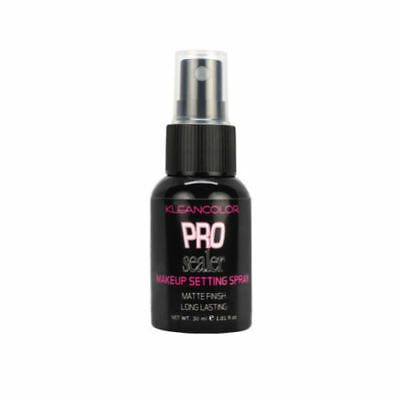 Kleancolor Pro Sealer Makeup Setting Spray Matte Finish Long Lasting Face -