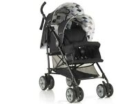 MY CHILD Sienta Duo Tandem Stroller (Geo) - Black ** GOOD CONDITION ** RPP £199