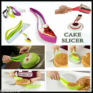 NEW-CAKE-PIE-SLICER-SHEET-GUIDE-CUTTER-SERVER-BREAD-SLICE-KNIFE-KITCHEN