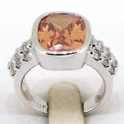 White Gold Citrine Ring