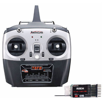 RC Radio Remote Control 2.4ghz 8ch 8 channel set RC Cars, Boats, Helis, Drones