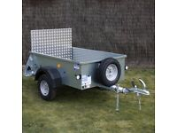 IFOR WILLIAMS P5E UNBRAKED TRAILER (BRAND NEW)