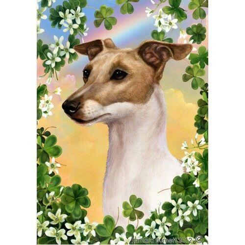Clover Garden Flag - Italian Greyhound 310651
