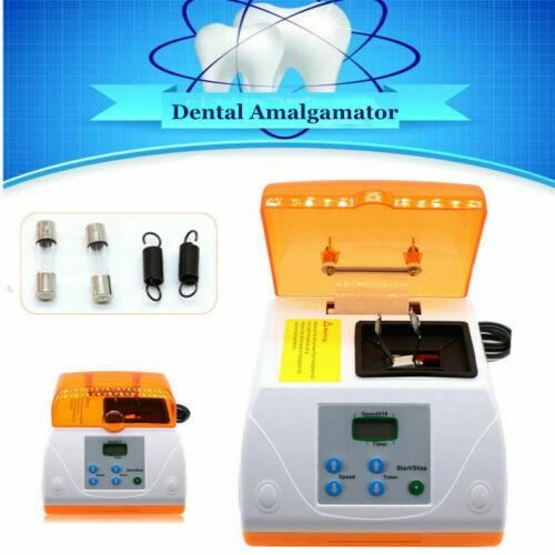 Dental Digital Amalgamator machine Triturator Amalgam Mixer Capsule 4700rpm USA