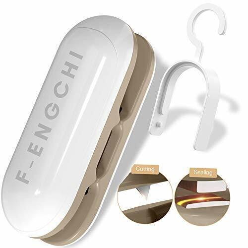 FengChi Mini Bag Sealer- Handheld Heat Vacuum Sealers, Portable 2 in 1 Heat