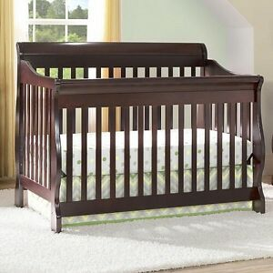 Solid cherrywood crib and bedroom set by Pali