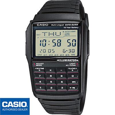 CASIO DBC-32-1AES⎪DBC-32-1A⎪ORIGINAL⎪Vintage EDGY⎪CALCULADORA⎪RETRO⎪NEGRO