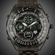 Mens Military Chronograph Watch