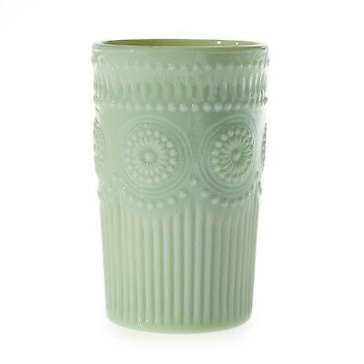 New Vintage-Inspired Jadeite-Look Elena Green Milk Glass Tumbler Vase