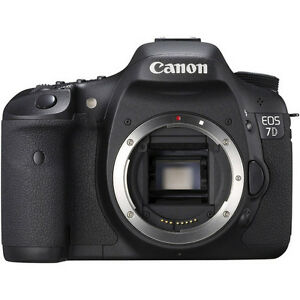 NEW Canon EOS 7D 18 MP HD Digital SLR Camera Body IN UK