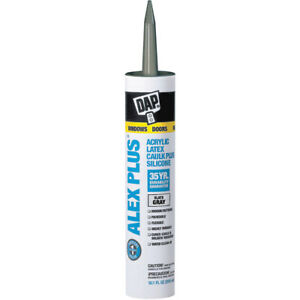 DAP acrylic latex caulk plus silicone