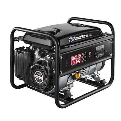 Briggs Stratton Powerboss 1150w Portable Gas Powered Generator Open Box