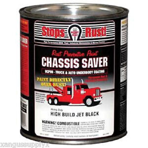 Chassis Paint Black Gloss