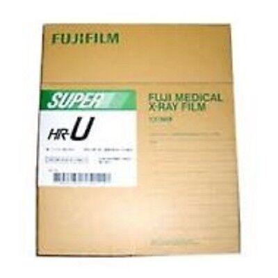 8x10 Hru - Fuji Green Hr-u X-ray Film - Free Shipping