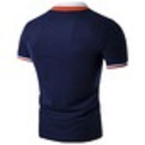 S-4XL Men's Fashion Personality Cultivating Short-sleeved POLO