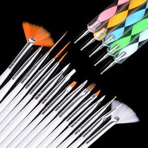 -Nail-Art-Design-Painting-Dotting-Detailing-Pen-Brushes-Bundle-Tool ...