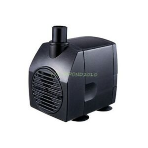 200 GPH Submersible Fountain Waterfall Water Pump w/ Grounded US 3-prong AC Plug