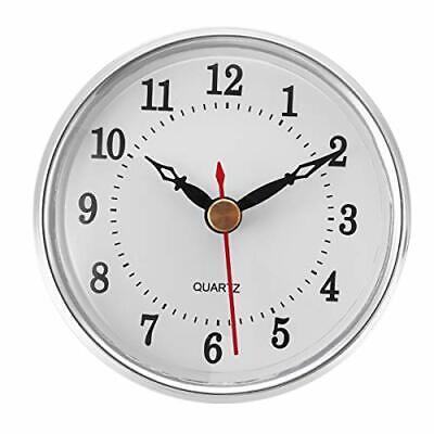 ShoppeWatch Clock Insert 80mm 3 1/8 inch Arabic Numerals Quartz Movement Cloc...