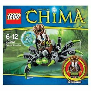 Sealed Lego Chima Spider Crawler