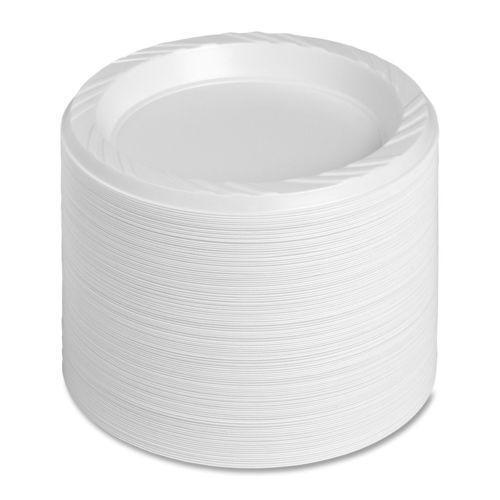 Wholesale Cornstarch Wedding Plates Disposable Plastic