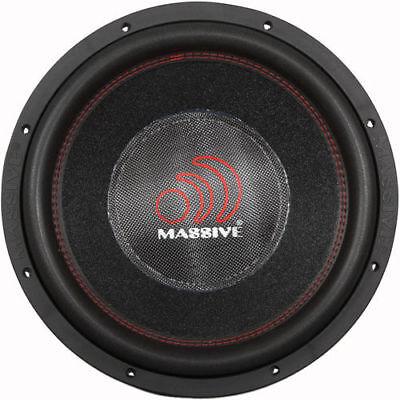 """Usado, Massive Audio HIPPO XL 152R 6000W RMS 15"""" Dual 2 Ohm Car Audio Subwoofer New XLR comprar usado  Enviando para Brazil"""