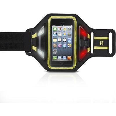 XtremeMac LED Sport Jogging Armband iPhone 5 4 S C iPod Touch Schutzhülle Case Leder Ipod Armband