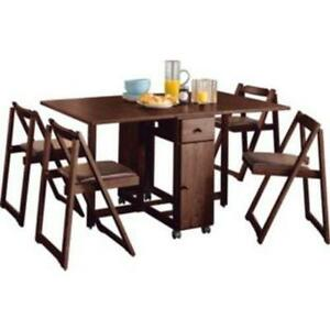folding table and chairs ebay. Black Bedroom Furniture Sets. Home Design Ideas