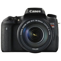 NEW: Canon T6s Kit with EF-S 18-135 IS STM lens