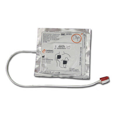 Aed Electrodes (Cardiac Science Powerheart G3 Adult AED Pads (Electrodes) 9131-001)