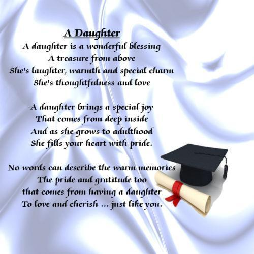 College Graduation Quotes For Daughter: Daughter Poem: Home, Furniture & DIY