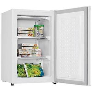 SELECTION OF DANBY UPRIGHT FREEZERS AT HUGE DISCOUNTS! 3.2 AND 4.3 CUBIC FOOT!