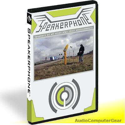 Speakerphone Plug In (Audio Ease SPEAKERPHONE 2 Software Effects Plug-in AUDIOEASE NEW MAKE)