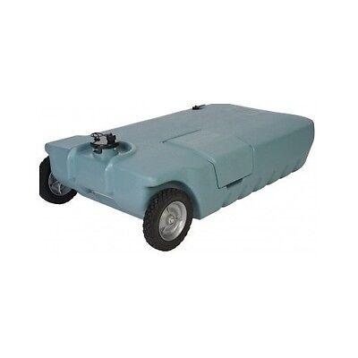 Tote N Stor Portable Waste Transport 32 Gallon Capacity RV Tank Camper Pump Pot