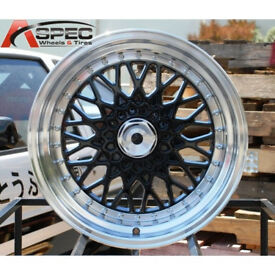 "VW Volkswagen corrado golf lupo BBS RS style brand new Alloy wheels 16"" inch x 9j 4x100 alloys wheel"