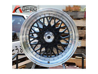 "VW Volkswagen corrado golf lupo BBS RS style brand new Alloy wheels 16"" inch x 9j 4x100 alloys wheel"