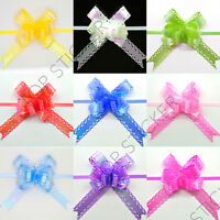 12mm Rainbow Coating Small Pull Bow Butterfly Ribbon Wedding Party Gift Wrap - unbranded - ebay.co.uk