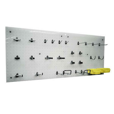 Large 44 Polypropylene Wall Organizer Garage Shop Pegboard Storage System