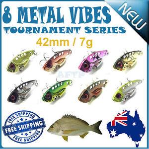 8X Fishing Switchblade Blade VIBE VIB Metal Lures 42mm 7g Bream Bass Flathead