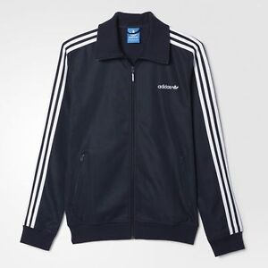 Adidas ORIGINALS MEN'S BECKENBAUER Soccer Football Jacket Large