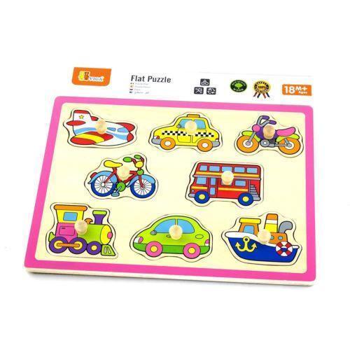 Childrens Wooden Puzzles Ebay