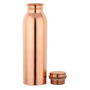 Pure Copper Water Bottle 950ml (32oz) / Pure Copper Flask