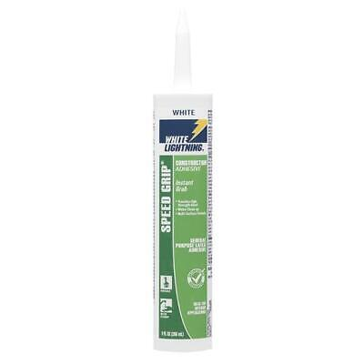 White Lightning Speed Grip Construction Adhesive For Variety Of Materials