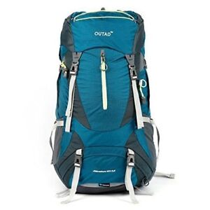 OUTAD Hiking Backpack Camping Mountain Hiking Multi-Day Pack 65L