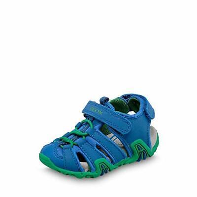 Geox Boys Toddler Kraze 36 Sandals, Royal, Size 7.0 3htr