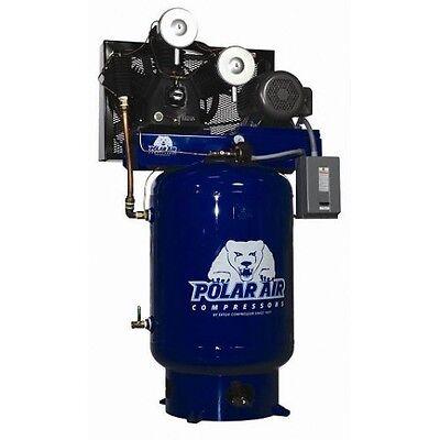 1015 Hp 3 Phase 120 Gallon Vertical Air Compressor